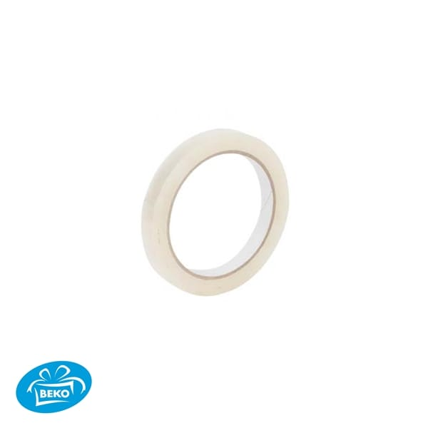 PP Acryl Tape 12mmx33mtr Transparant