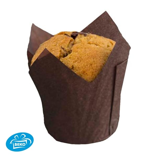 Caisse 110/35mm 'Tulp Small' Goud (Muffin)